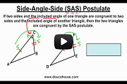 Basics Of Triangle Congruence Postulates Video Link