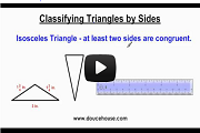Classifying Triangles Video Link