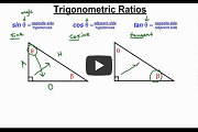 Right Triangle Trigonometry Part 1 Video Link
